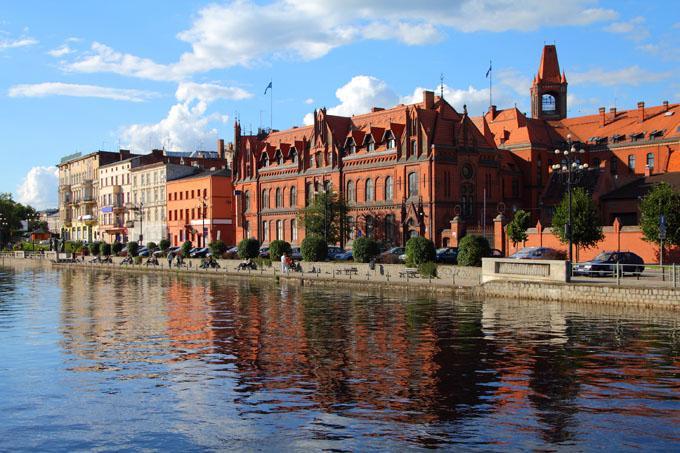 Floden i Bydgoszcz, Polen