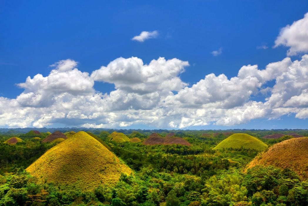 Chocolate Hills i Bohol, Filippinerne