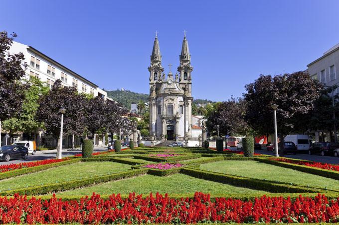 Kirken i Guimaraes, Portugal
