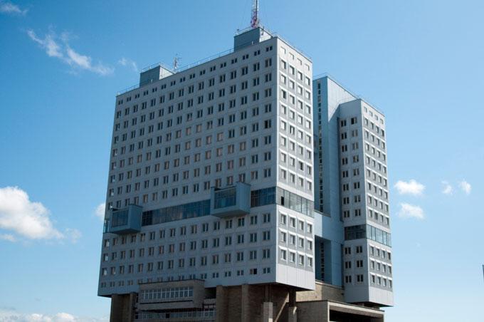 House of Sovjet i Kaliningrad, Rusland.